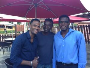 Three St Lucian Salsero's