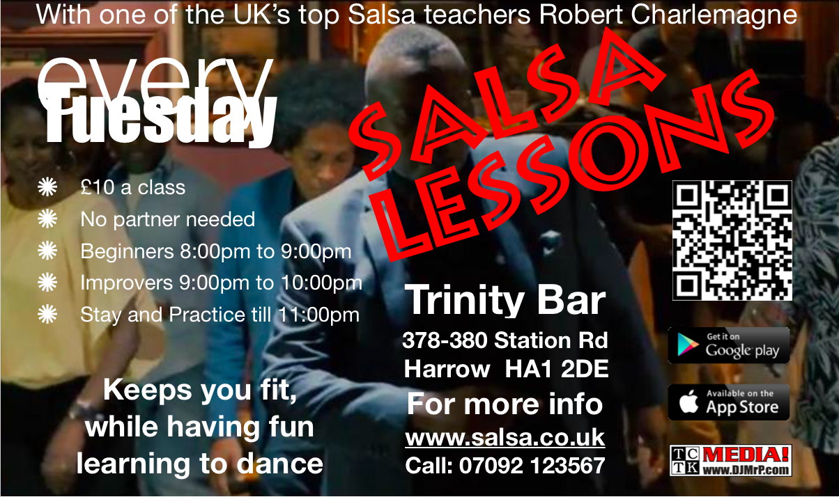 Salsa every Tuesday
