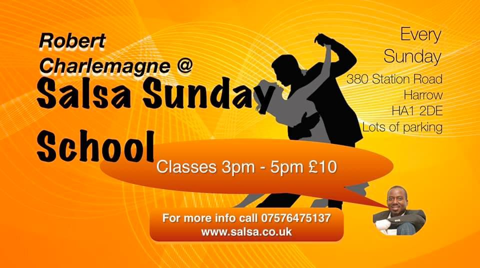 Salsa every Sunday